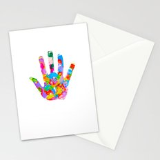 Hand Foot Stationery Cards