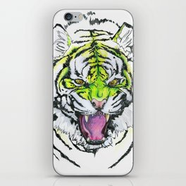 TIGER HUNGRY iPhone Skin