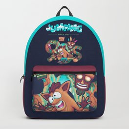 Jumping Since The 90s Backpack