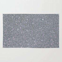 Two Toned Glitter Rug