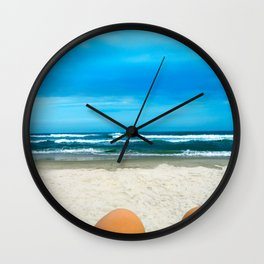 By The Ocean Wall Clock