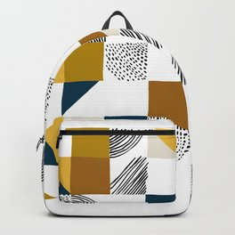 Square, Dots and Lines Backpack