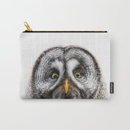 Owl Print Carry-All Pouch