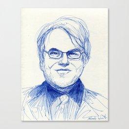 Philip Seymour Hoffman Canvas Print