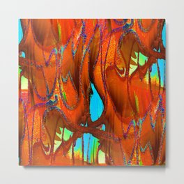 thinly sliced Metal Print