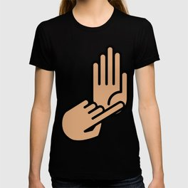 Detroit Michigan Hand Map T-shirt