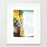 science Framed Art Prints featuring science by jastudio