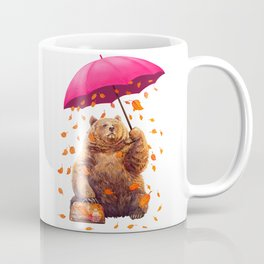 autumn bear Coffee Mug