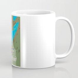 Cleveland,Ohio Travel poster art print Coffee Mug