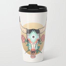 cráneo de vaca Travel Mug