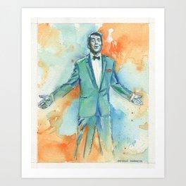 Dean M Art Print