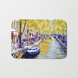 Amsterdam Canal Bath Mat