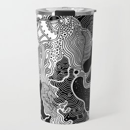 Had I Not Created My Whole World (Anais Nin) Travel Mug