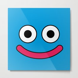 Dragon Quest's Slime Metal Print