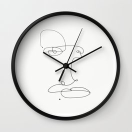 Three.. dots. Wall Clock