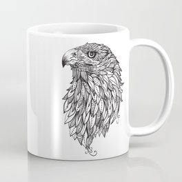 Tribal Eagle Graphic Print Women's Relaxed Fit short Sleeve T-Shirt Coffee Mug