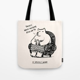 A Grizzly Bear Tote Bag