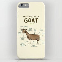 Anatomy of a Goat iPhone Case