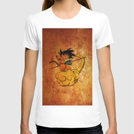 goku and kinton T-shirt