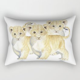 Three Amigos Rectangular Pillow