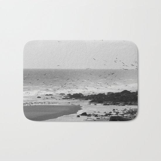 Beach, Calais, France. Bath Mat
