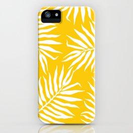 Malé mustard iPhone Case