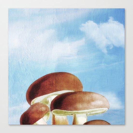 Mushroom Heaven Canvas Print