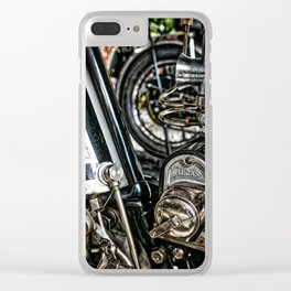 Lucas Clear iPhone Case