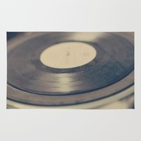 vinyl Area & Throw Rugs featuring Vinyl  by Caroline Mint