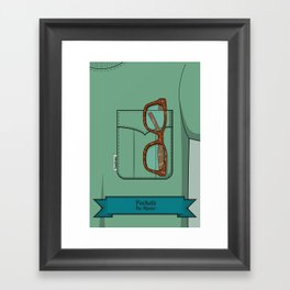 Pockets - The Hipster - Framed Art Print
