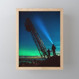 Northern Lights Framed Mini Art Print