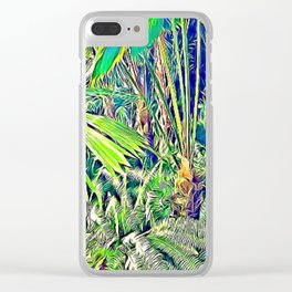 Flourished Clear iPhone Case