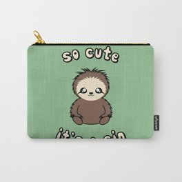So Cute It's A Sin Carry-All Pouch