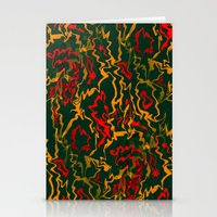 rasta Stationery Cards featuring Rasta Time... by Cherie DeBevoise