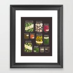 Pickled Framed Art Print