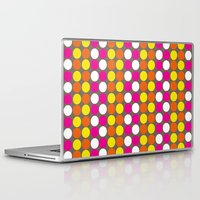 polka dots Laptop & iPad Skins featuring polka dots by nandita singh