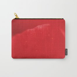 Red Flower Petal - Macro - Fine art Print, interior decoration, interior design, high quality photo Carry-All Pouch