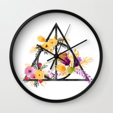 Life and Deathly Hallows Wall Clock