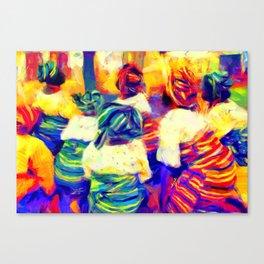 Igbeyawo [Traditional Wedding] Canvas Print