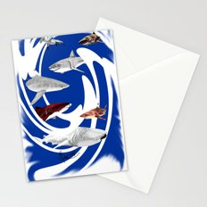 Sharks. Stationery Cards