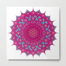 Flower Of Life Mandala #10 Metal Print