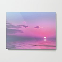 With Each Sunrise We Start Anew Metal Print