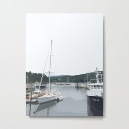 NorthEast Harbor, ME Metal Print