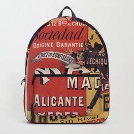 Spanish Chocolate - Toreador 1878 Backpack