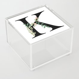 Botanical K Acrylic Box