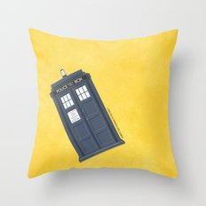 9th Doctor - DOCTOR WHO Throw Pillow