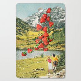 Strawberry Avalanche Cutting Board