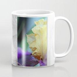 Tall Bearded Iris named Final Episode Coffee Mug