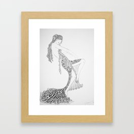 Dancer Series - Costello Framed Art Print