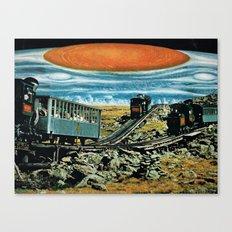 Jupiter FLASH Canvas Print